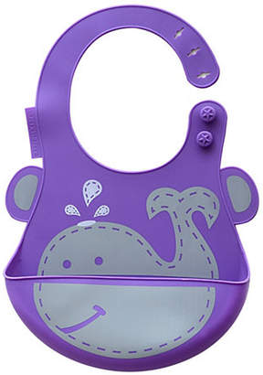 Marcus Collection & Willo the Whale Silicone Baby Bib
