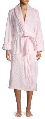 Natori Plush Long-Sleeve Robe