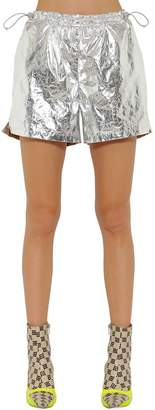 Misbhv Wrinkled Nylon Shorts
