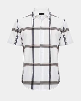Theory Bold Check Shirt