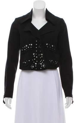 Chloé Wool Cropped Jacket