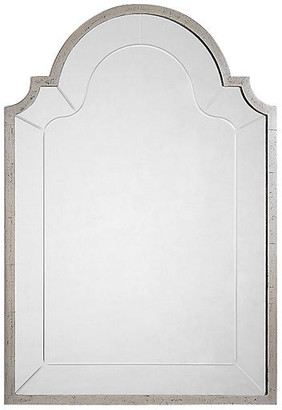 "One Kings Lane Joseph 28""x41"" Wall Mirror - Antique Silver Leaf"