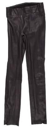 Rag & Bone High-Rise Leather Pants