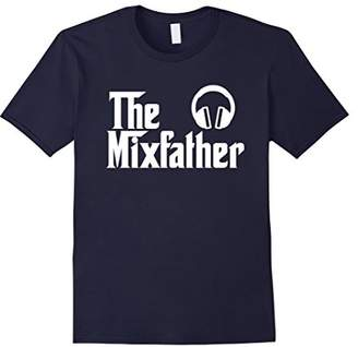 Jockey The Mix Father Funny Disk DJ T-Shirt Gift