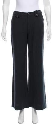 Rachel Zoe Mid-Rise Wide-Leg Pants