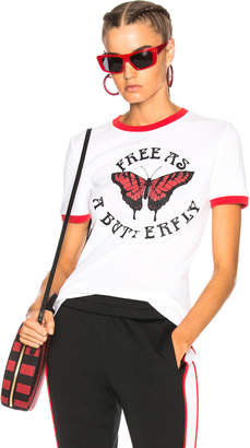 Off-White Butterfly Tiny Tee