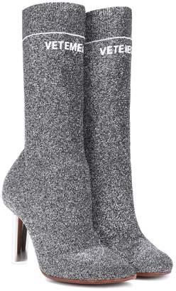 479f2d66995a25 Vetements Lighter-heel Sock ankle boots