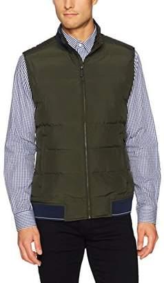 Perry Ellis Men's Quilted Puffer Vest