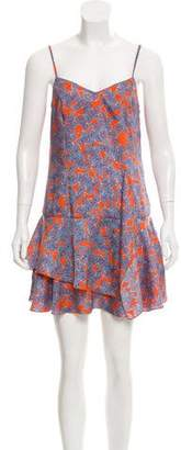 Thakoon Printed Mini Dress