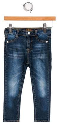7 For All Mankind Seven Girls' Skinny- Leg Jeans