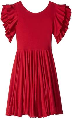 fiveloaves twofish Amelia Stretch Fit Flare Dress Girl's Dress