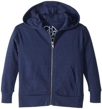 Chaser Kids Cotton Jersey Zip-Up Hoodie Boy's Sweatshirt