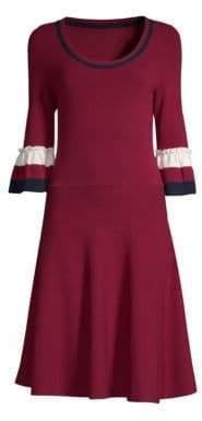 Draper James Bell Sleeve Sweater Dress