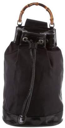 Gucci Vintage Bamboo Sling Bag