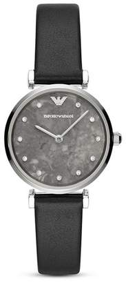 Emporio Armani Gianni T-Bar Stainless Steel Watch, 32mm