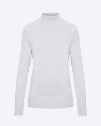 Theory Cashmere Mock Neck Pullover