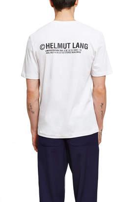 Helmut Lang Paris Taxi T-Shirt