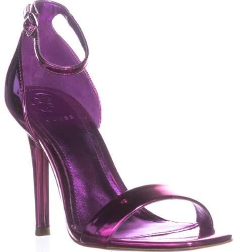Guess Celie3 Square Toe Evening Sandals, Medium Pink, 5 US