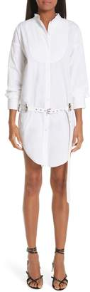 Alexander Wang Belted Drop Waist Shirtdress