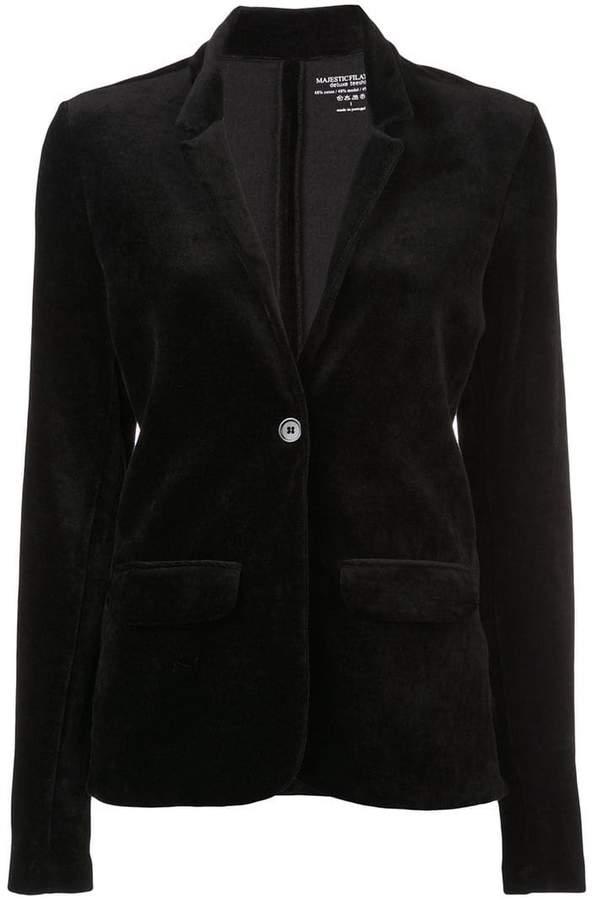 classic buttoned blazer