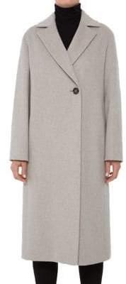 Cinzia Rocca Notch Collar Wool Coat