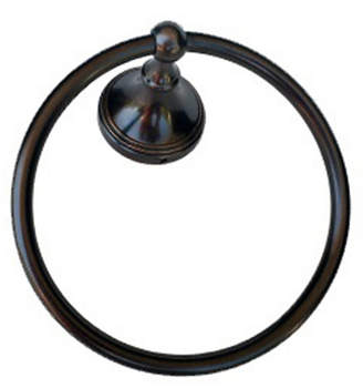 Arista Annchester Towel Ring Oil-Rubbed Bronze Finish Bedding