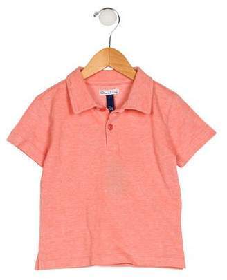 Oscar de la Renta Boys' Collar Short Sleeve Shirt
