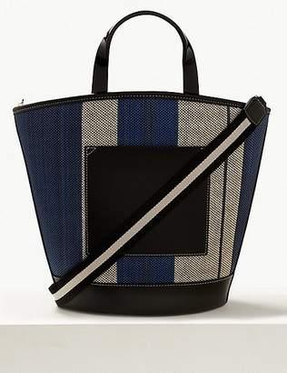 Marks and Spencer Colour Block Shopper Bag