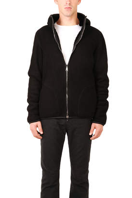 Giorgio Brato Shearling Fur Hoody Jacket