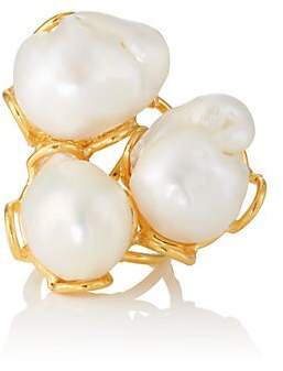 Sylvia Toledano Women's Baroque Ring - Pearl