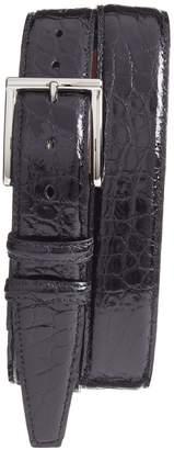 Torino Belts Genuine American Alligator Leather Belt