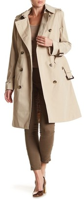 London Fog Hooded Trench Coat $275 thestylecure.com
