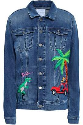 Mira Mikati Embroidered Denim Jacket