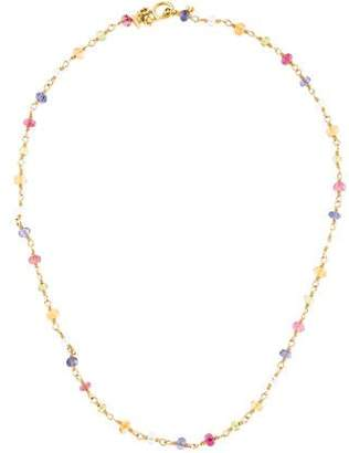 Temple St. Clair 18K Multistone Karina Bead Necklace