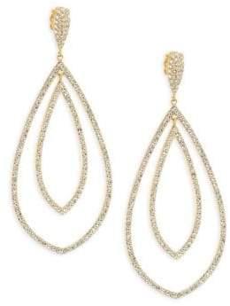 Adriana Orsini 18K Yellow Gold Double Drop Earrings
