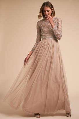 At Bhldn Needle Thread Miramar Dress