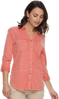 Sonoma Goods For Life Petite SONOMA Goods for Life Tunic Shirt