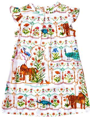 Papergirl Collection Mughal Garden Cotton Dress - Size 5-6y