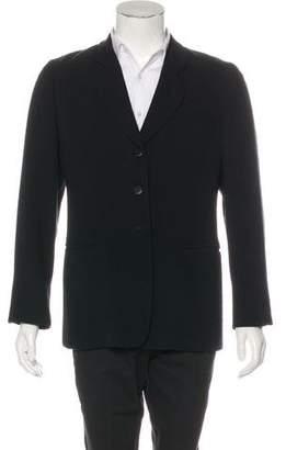 Giorgio Armani Woven Wool Blazer