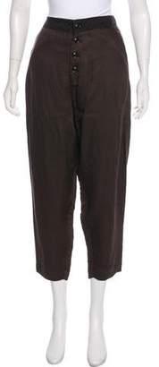 Pas De Calais High-Rise Cropped Pants