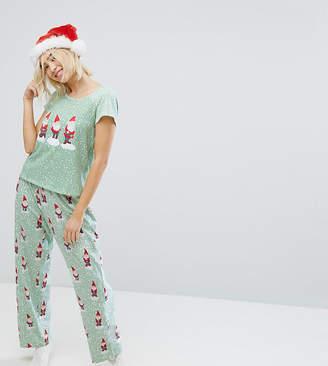 Monki Gnome Dot Pajama Set