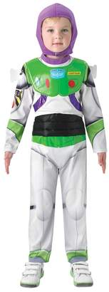 Rubie's Costume Co Boys Disney Toy Story 4 Deluxe Buzz Lightyear Fancy Dress Costume - White