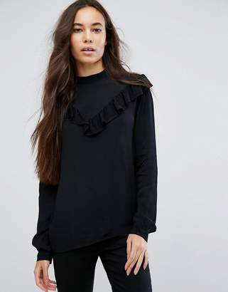 B.young Gothic Frill Blouse