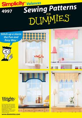 Simplicity Sewing Pattern 4997 Home Decorating, One