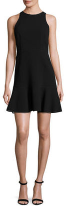Theory Felicitna Crepe Fit & Flare Dress $213 thestylecure.com