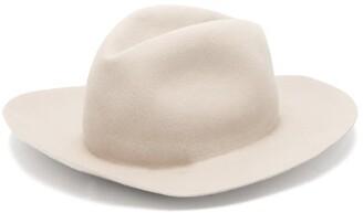 Albertus Swanepoel Prairie Felt Trilby Hat - Mens - Beige