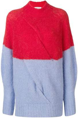 Circus Hotel knitted high neck jumper