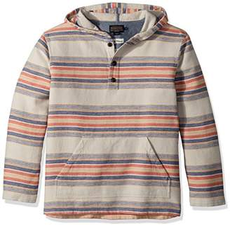 Pendleton Men's Stripe Popover Hoody