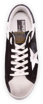 Golden Goose Men's Superstar Leather/Suede Low-Top Sneakers