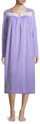 Adonna Microfiber Long Sleeve Nightgown